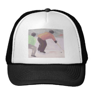 Raza del hockey, gorra