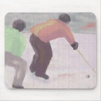 Raza del hockey, Mousepad