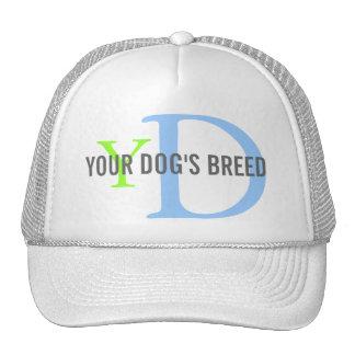 Raza del perro/amantes del perro gorra