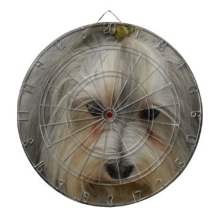 Raza del perro de Havanese Tabla Dardos