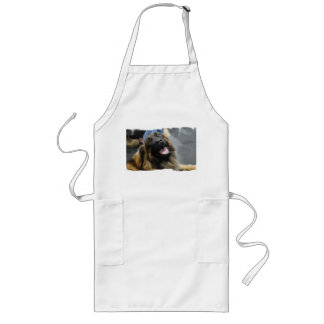 Raza del perro de Leonberger Delantales