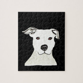 Raza del perro de Pitbull Rompecabezas Con Fotos