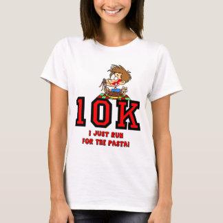 Raza divertida 10K Playera