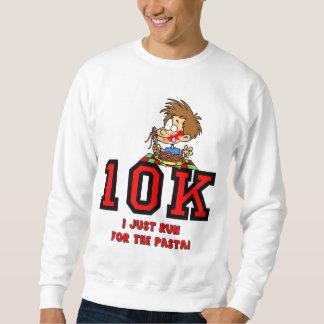 Raza divertida 10K Sudadera
