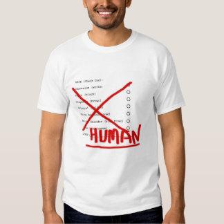 RAZA HUMANA CAMISAS
