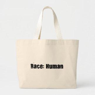 Raza: Humano Bolsa Tela Grande