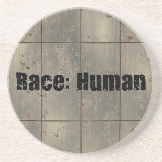 Raza: Humano Posavasos Personalizados