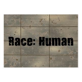 Raza: Humano Tarjetas De Visita