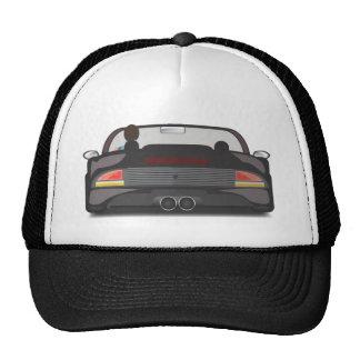 raza retra de la arcada 80s gorras de camionero