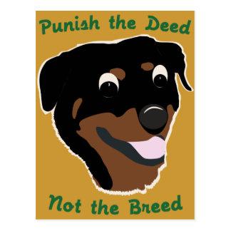 Raza Rottweiler del hecho no Postales