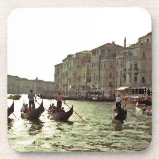 Raza Venecia de la góndola Posavasos