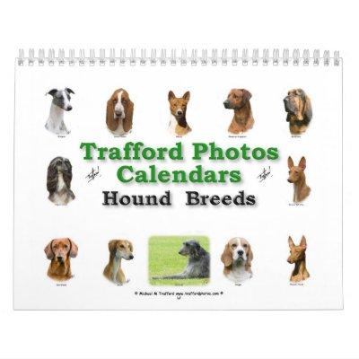 Razas del perro calendarios