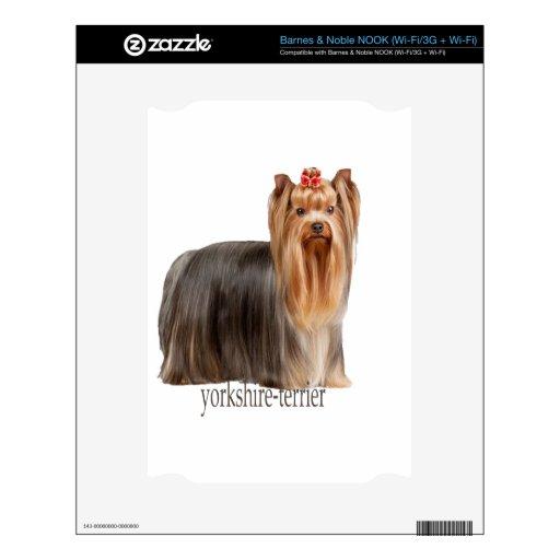 razas del perro de Yorkshire-Terrier NOOK Skins