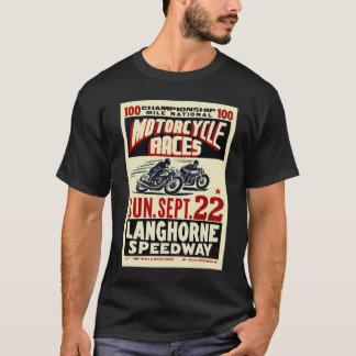 Razas retras de la motocicleta de Langhorn del Playera