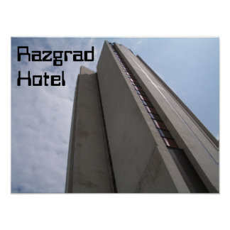 Razgrad Hotel Poster