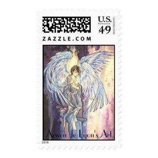 Raziel Postage Stamp