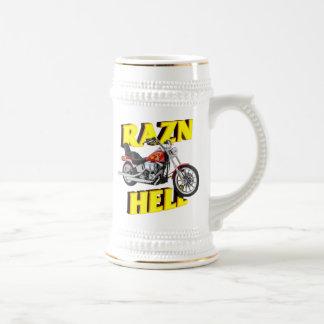 Raz'n Hell 18 Oz Beer Stein