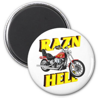 Raz'n Hell 2 Inch Round Magnet