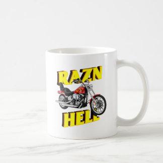 Raz'n Hell Classic White Coffee Mug