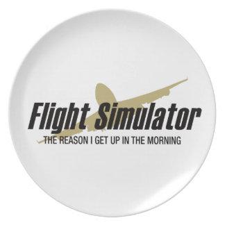 Razón de Flight Simulator que me levanto Plato De Comida