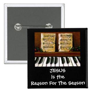 RAZÓN DE JESÚS DE LA ESTACIÓN: PIANO: ARTE PIN CUADRADO