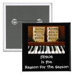 RAZÓN DE JESÚS DE LA ESTACIÓN: PIANO: ARTE PINS
