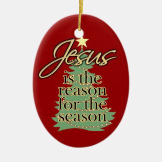 Razón de Jesús del ornamento del navidad de la est Ornamentos De Reyes Magos