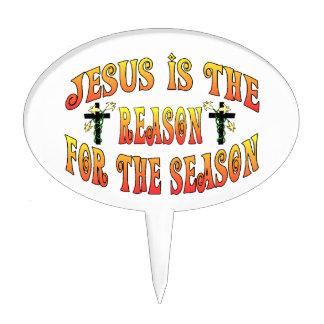 Razón de la estación Pascua Decoraciones De Tartas