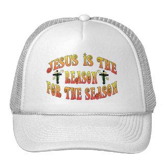 Razón de la estación Pascua Gorros Bordados