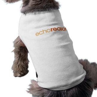 Razón del eco camisas de perritos