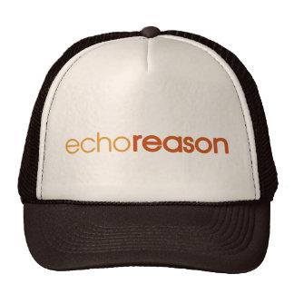 Razón del eco gorra