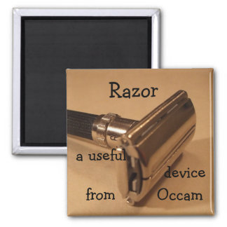 Razor: a useful device from Occam 2 Inch Square Magnet