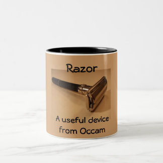 Razor: a useful device from Occam Two-Tone Coffee Mug