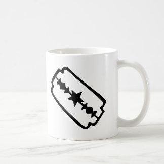Razor blade coffee mug