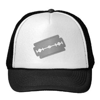 Razor Blade on a cap Trucker Hat