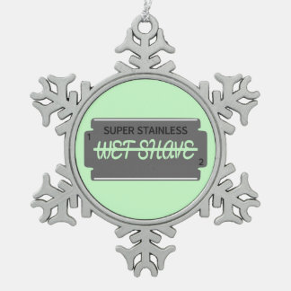 Razor Blade Wet Shave Ornaments