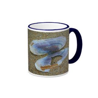 Razor Clam Shell, Oregon Ringer Mug