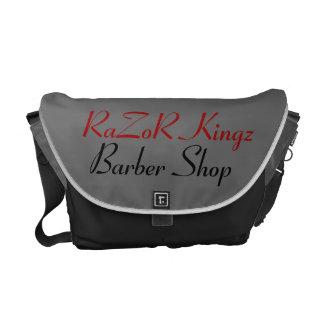 RaZoR Kingz Barber Shop Promotional Messenger Bag