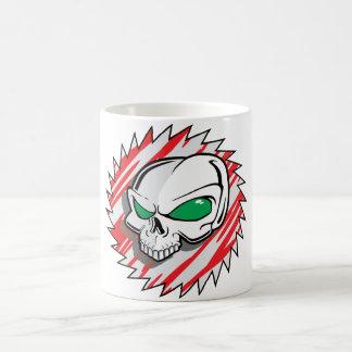 Razor Saw Skull Coffee Mug