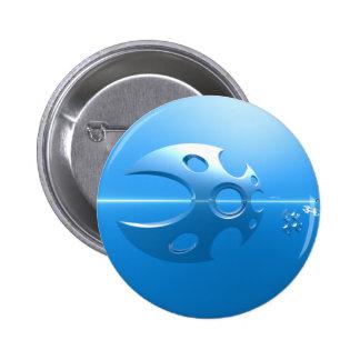 Razor Sharp 2 Inch Round Button