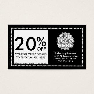 razor stripes coupon card