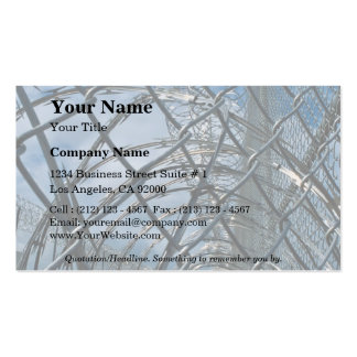 Razor wire, prison Double-Sided standard business cards (Pack of 100)