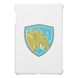 Razorback Head Charge Shield Cartoon iPad Mini Cases