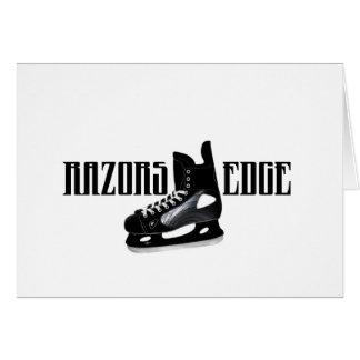 RAZORS EDGE CARD
