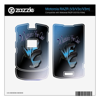 RAZR-Guerreros de Motorola para Cristo Motorola RAZR Skin