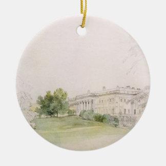 Razumovsky Palace (pencil & w/c) Ceramic Ornament