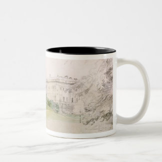 Razumovsky Palace (pencil & w/c) Two-Tone Coffee Mug