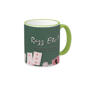 Razz Etc! Ringer Coffee Mug