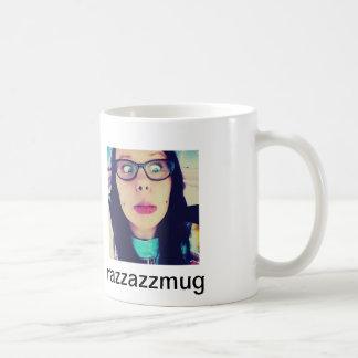 razzazzmugg classic white coffee mug