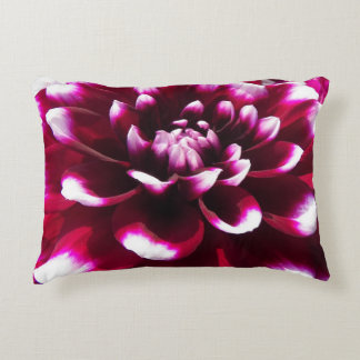 Razzle Dazzle Dahlia Floral Decorative Pillow